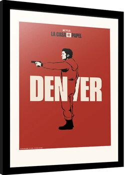 Poster incorniciato La Casa De Papel - Denver