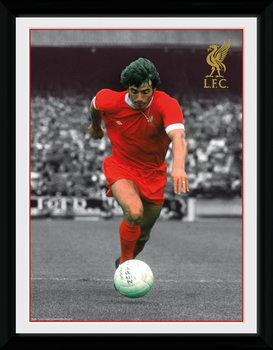 Liverpool - Keegan Poster Incorniciato