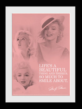 Marilyn Monroe - Angel locandine Film in Plexiglass