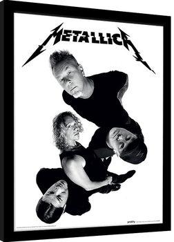Metallica - Twisted Band Poster Incorniciato