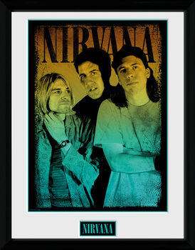 Nirvana - Gradient locandine Film in Plexiglass
