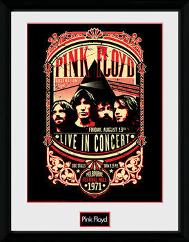 Pink Floyd - Pink Floyd - 1971 Poster Incorniciato