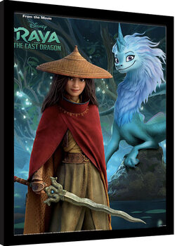 Poster incorniciato Raya and the Last Dragon - Fireflies