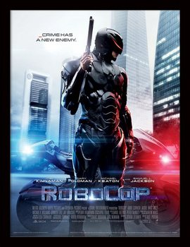 ROBOCOP - 2014 one sheet locandine Film in Plexiglass