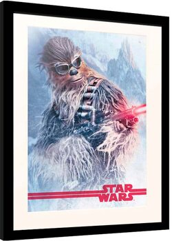 Poster incorniciato Solo: Star Wars Story - Chewbacca at Work