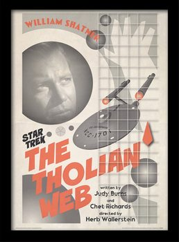 Star Trek - The Tholian Web Poster Incorniciato
