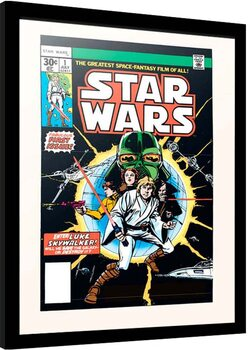 Poster incorniciato Star Wars - First Issue