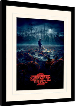 Stranger Things - Pumpkin Patch Poster Incorniciato