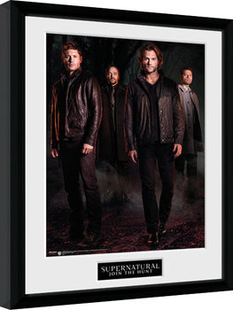 Supernatural - Key Art Poster Incorniciato