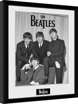The Beatles - Chair Poster Incorniciato