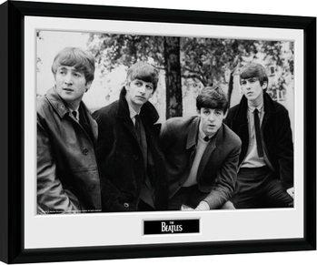 The Beatles - Pose Poster Incorniciato