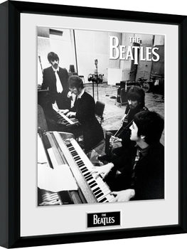 The Beatles - Studio Poster Incorniciato