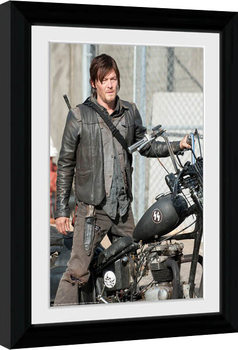 THE WALKING DEAD - Daryl Poster Incorniciato