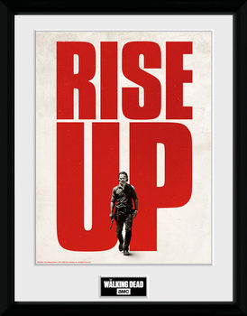 The Walking Dead - Rise Up Poster Incorniciato