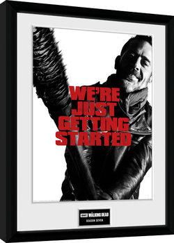 The Walking Dead - Season 7 Poster Incorniciato