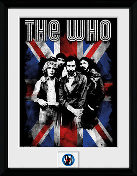 The Who - Union Jack locandine Film in Plexiglass