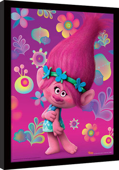 Trolls - Poppy locandine Film in Plexiglass