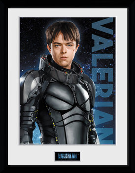Valérian and the City of a Thousand Planets - Valerian Poster Incorniciato
