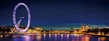Γυάλινη τέχνη London - London Eye