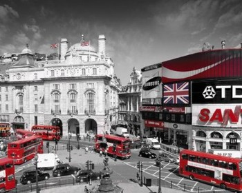 London - piccadilly circus - плакат (poster)