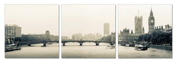 London - Thames, Westminster Palace Modern tavla