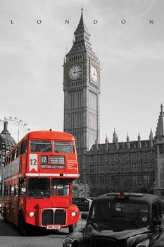 London - westminster  - плакат (poster)