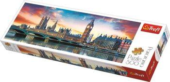 Puzzle Londýn - Big Ben a Westminsterský palác