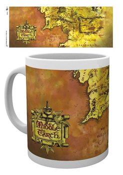 Cană Lord Of The Rings - Map