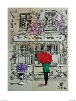 Loui Jover - Au Vieux Paris Festmény reprodukció