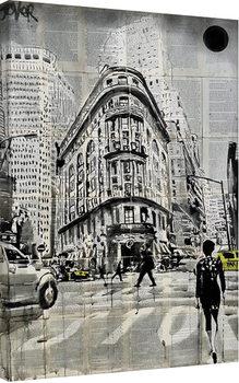 Bilden på canvas Loui Jover - Midtown Walk