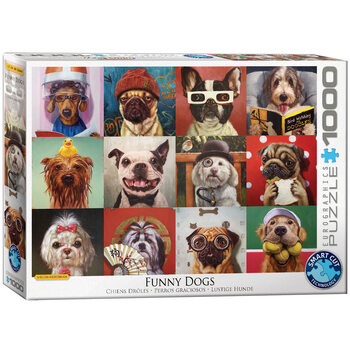 Puzzle Lucia Heffernan - Funny Dogs