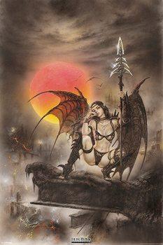 Luis Royo - black tinkerbell - плакат (poster)