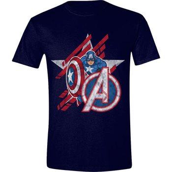 Maglietta  Avengers - Captain America