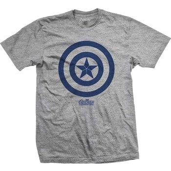 Maglietta  Avengers - Infinity War Captain America Icon