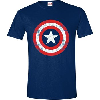 Maglietta Captain America - Cracked Shield