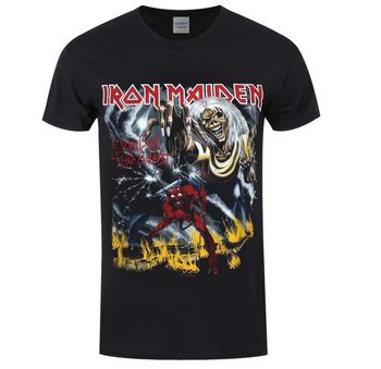 Maglietta  Iron Maiden - Number of the Beast