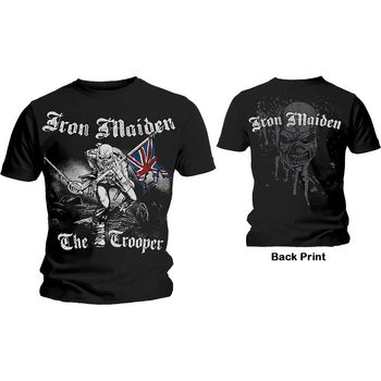 Maglietta  Iron Maiden - The Trooper
