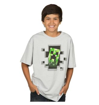 Maglietta Minecraft - Creeper Inside