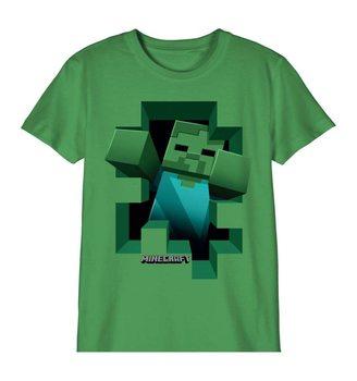 Maglietta Minecraft - Zombie
