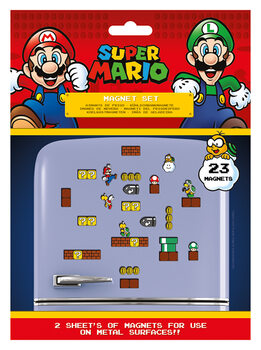 Magnes Super Mario - Mushroom Kingdom