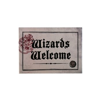 Harry Potter - Wizards Welcome Magnet