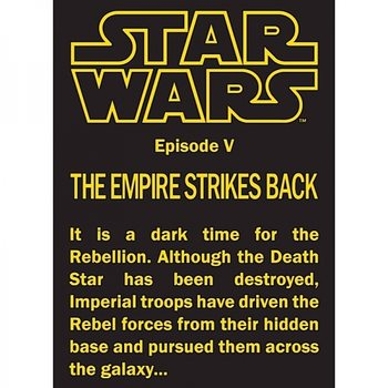 Star Wars - Empire Strikes Back Magnet