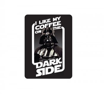 Magnete  Star Wars - Coffee On The Dark Side