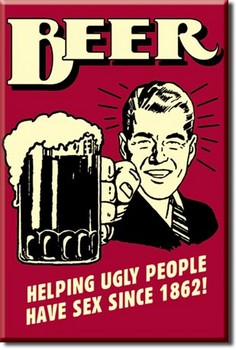 BEER - ugly people Magneten