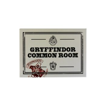 Magneet Harry Potter - Gryffindor Common Room
