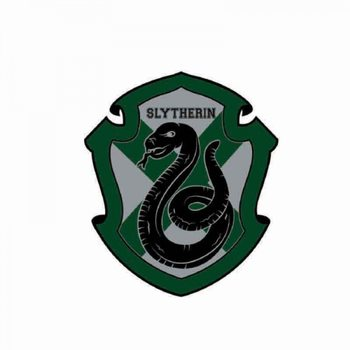 Harry Potter - Slytherin Crest Magneten