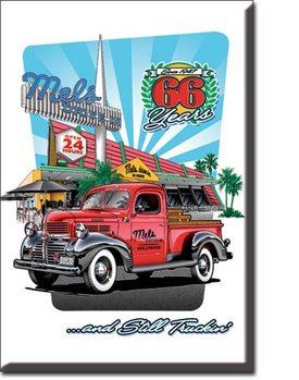 Mel's Diner Truck Magnet