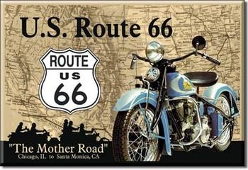 U.S. - route 66 Magnet