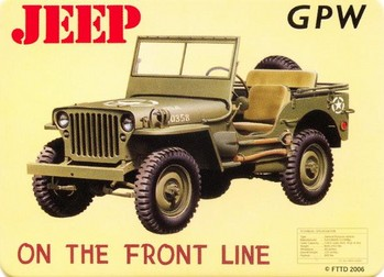 Magnet JEEP - gpw