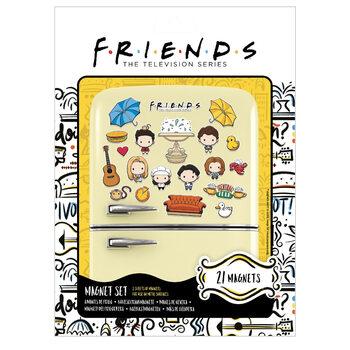 Magnet Přátelé - Chibi
